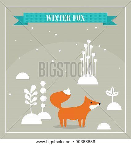 Cute little fox.