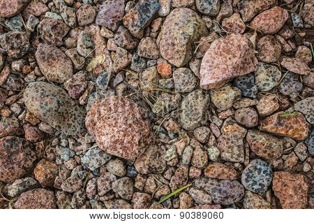 Raindrops On Dry Rocks