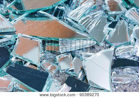 Shards Of Shattered Glass.