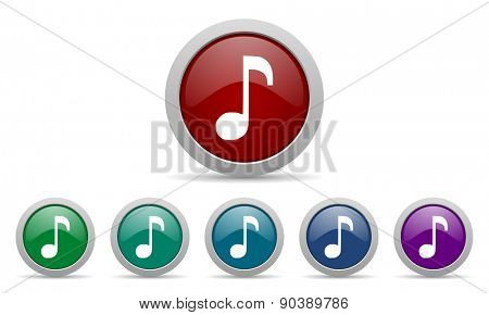 music icon note sign
