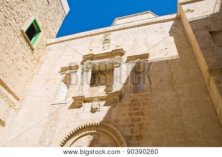 Duomo Church of Molfetta. Puglia. Southern Italy.