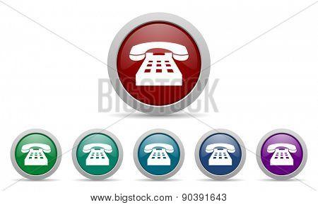 phone icon telephone sign