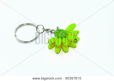 Green Bananas tags for Key bunch