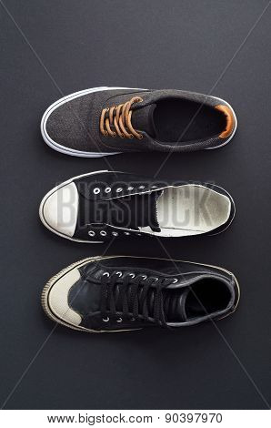 Three Types Of Sneakers