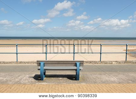 Bench, Beach View.