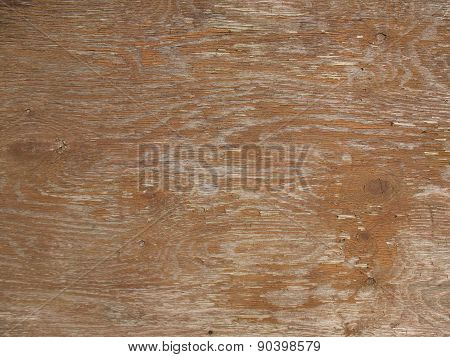 Damaged wood