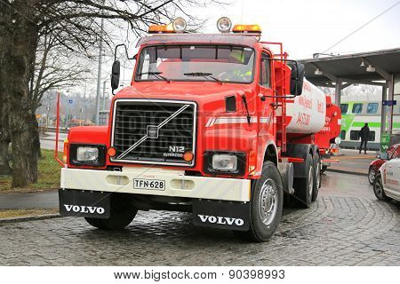 Classic Volvo N12 Tank Truck Year 1988