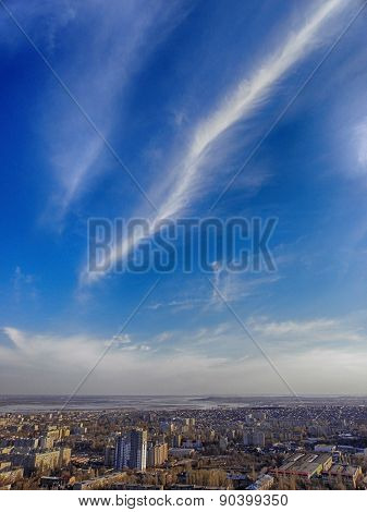 Sky Above The Town