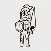 picture of paladin  - Knight Doodle - JPG