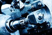 pic of mechanical engineering  - Industrial heavy engineering machine - JPG