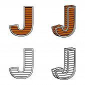 picture of letter j  - Letter J  - JPG