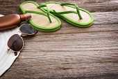 picture of suntanning  - Beach accessories - JPG
