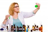 picture of scientific research  - Experiment research in progress - JPG