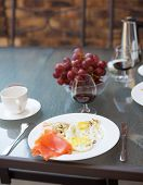 image of scrambled eggs  - Coffee - JPG