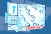 stock photo of genetic engineering  - Sci - JPG