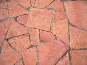 stock photo of stone floor  - detail of a stone road or walkway closeup - JPG
