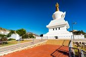 picture of southern  - The Buddhist Temple in Benalmadena town - JPG