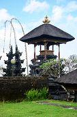 picture of hindu  - Besakih temple one of Hindu temple in Bali Indonesia - JPG