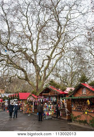 Winter Wonderland London Christmas Market
