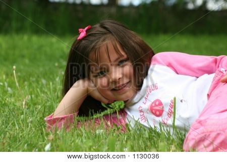 Grass And Girl