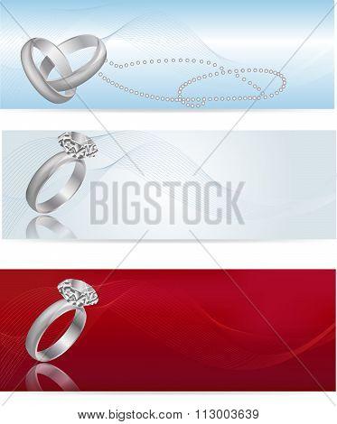 Elegant And Fashionable White Gold Engagement Ring