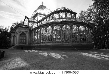 Crystal Palace In Retiro Park, Madrid