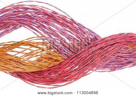 Data transmission in colorful computer cables