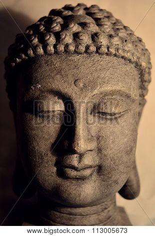 Clay buddha