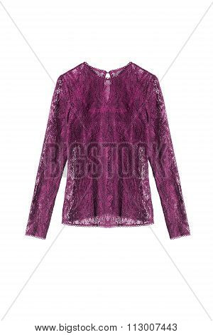 Lacy Blouse Isolated