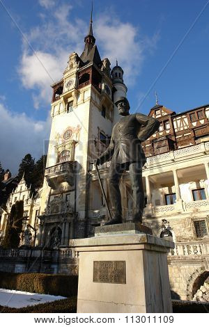 The Monument In Sinaia.