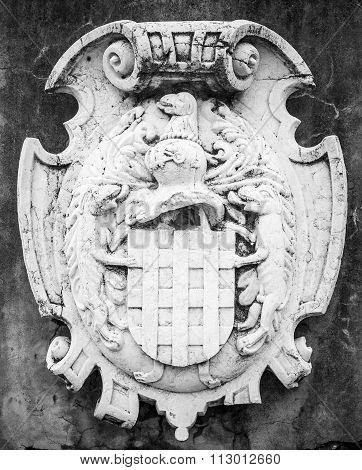 coat of arms in Santo António dos Cavaleiros, Lisboa, Portugal