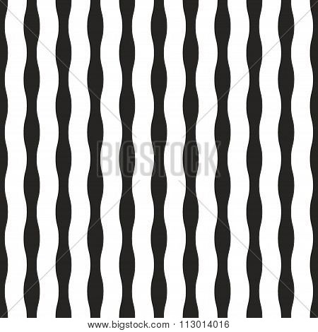 Ribbon Monochrome Seamless Pannern