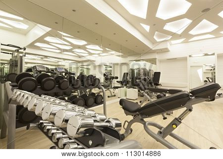 training room gym