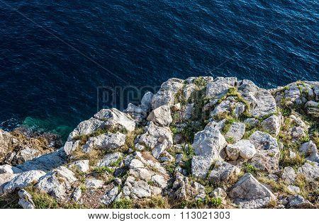 Adriatic Sea In Dubrovnik