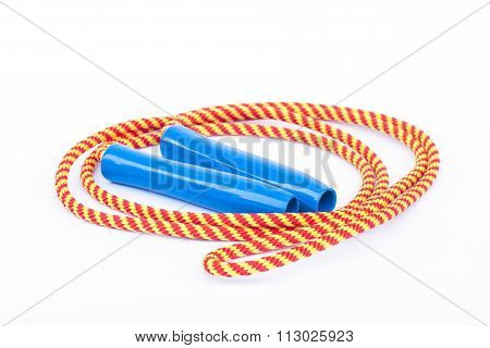 Skipping Rope Isolated On White Background