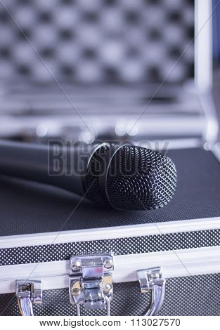 Voice Microphone And Carry Case