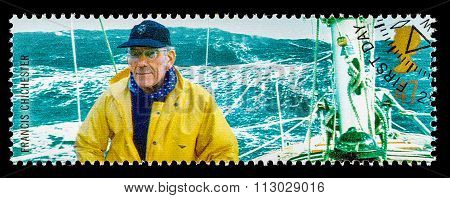 Britain Famous Explorer Postage Stamp