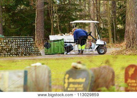 Graveyard Worker