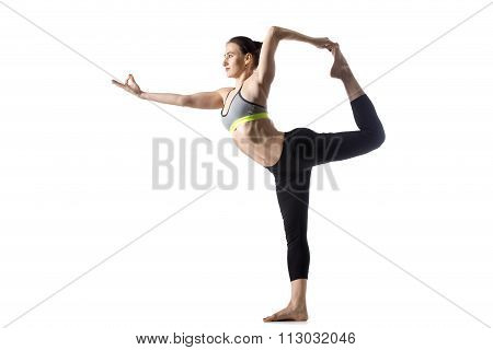 The Dancer Pose