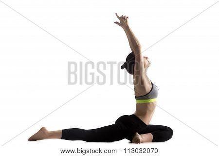 One-legged King Pigeon Pose