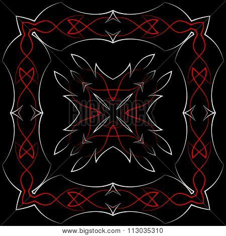 Pinstripe Graphics : Vinyl Ready Raster Illustration