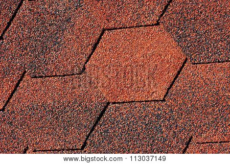 Red - Black Shingles Textures( Close -up Background)