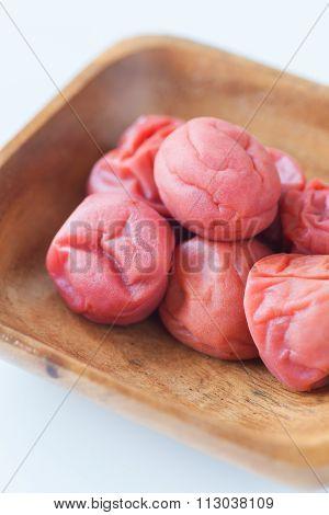 Salt plums