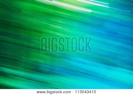 Light Abstract Natural Green Motions Background