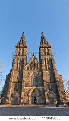 Basilica Of St Peter And St Paul In Vysehrad, Prague