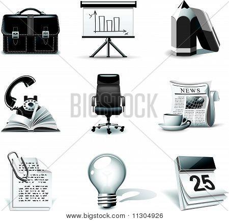 Business Icons | B&W Series