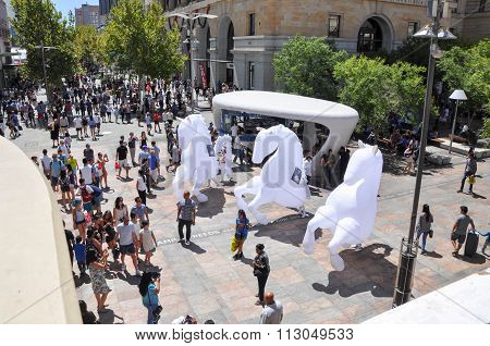 Street Performance in Perth, Western Australia