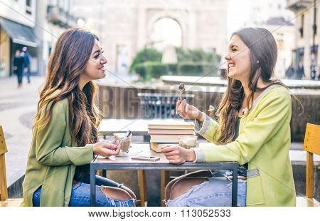 Women Laughing In A Bar