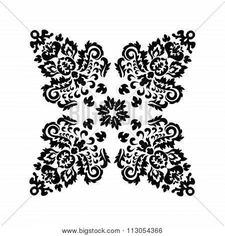 Stock Vector Orient Floral Pattern