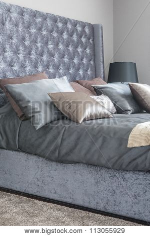 Luxury Bedroom With King Bed Size Classic Bed Style